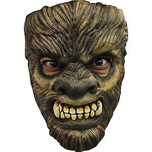 Générique Generic mahal654-Adultos máscara de látex Hombre Lobo Scary Wolf-Talla única