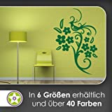 Fasan Vogel Ranke Wandtattoo in 6 Größen - Wandaufkleber Wall Sticker
