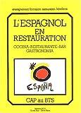 L'espagnol en restauration
