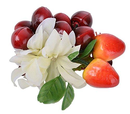 Unbekannt Cute 50s BARBARA Retro Cherry Blüten HAARKAMM Rockabilly