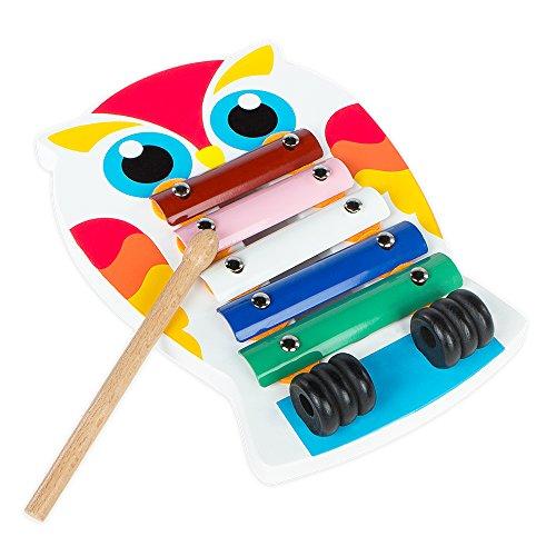 ColorBaby - Xilofón de madera Buho (43615)