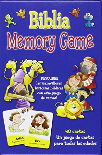 Biblia Memory Game: juego de cartas (JUEGOS, PELUCHES Y MÁS) - Juego über
