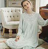 LCTCSY Romantische Französisch Vintage Pyjamas Mädchen