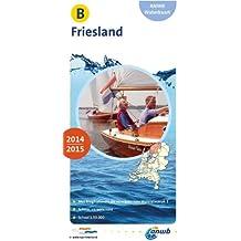 ANWB Waterkaart Friesland 2014/2015 (ANWB waterkaart (B))