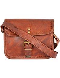 Best Quality Jodhpuri Handmade Vintage Brown Genuine Leather Regular Cross Body Bag   Sling Bag   Shoulder Bag...