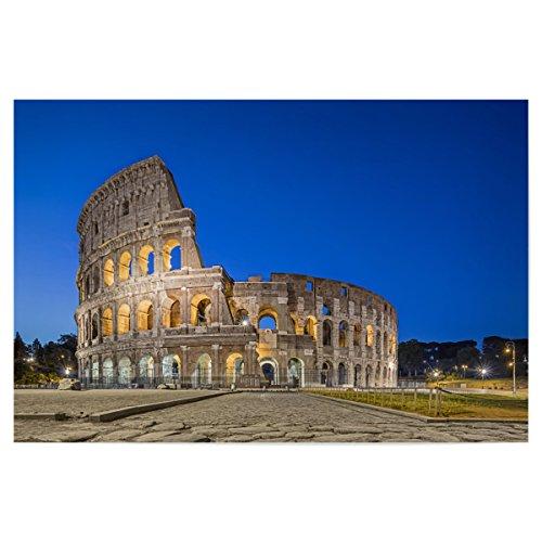 """artboxONE Poster 90x60 cm Architektur """"Kolosseum in Rom"""" hochwertiger Design Kunstdruck - Bild Architektur von Dieter Meyrl"""