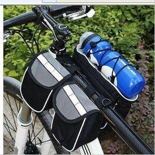 FAN4ZAME Die Vordere Tasche Das Obere Rohr Die Fahrradtasche Die Berge Auto Den Strahl Beutel Die Vier In Einem Beutel Black