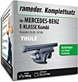 Rameder Komplettsatz, Dachträger SquareBar für MERCEDES-BENZ E-KLASSE Kombi (116010-04947-23)