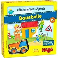 HABA-305211-Meine-ersten-Spiele-Baustelle-kooperatives-Memospiel-mit-Kullerb-Fahrzeug-und-Vorlesegeschichte-Spiel-ab-2-Jahren