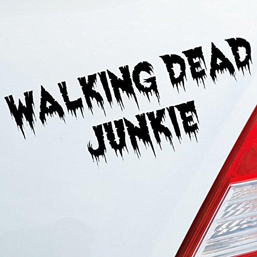Preisvergleich Produktbild Auto Aufkleber für Walking Dead Fans Junkie Zombi Tuning Sticker Rick the Lucille Autoaufkleber Motorrad