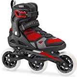 Rollerblade Macroblade 110 3 WD Fitness Patines, hombre, 07846500 741, blanco/rojo, 46