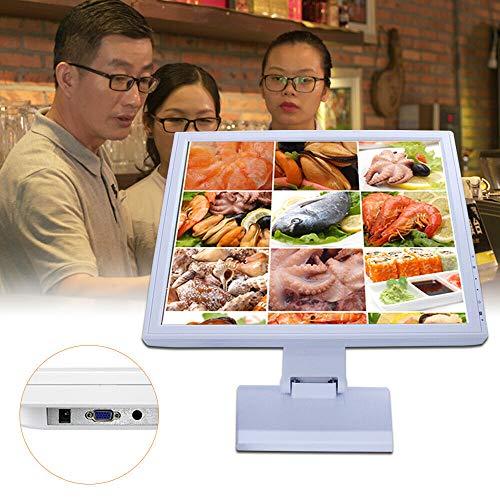 Standard-restaurant-bar (17 Zoll LCD Touch Screen Monitor, VGA Kassensystem 4:3 Standard Monitore für POS-Ständer Einzelhandel Restaurant Bar Pub Kassenmonitor mit HDMI Schnittstelle 1280x1024)