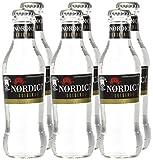 Nordic Mist - Tónica, Refresco con gas - Mixer, 200 ml (4 Packs de 6), Botella de cristal
