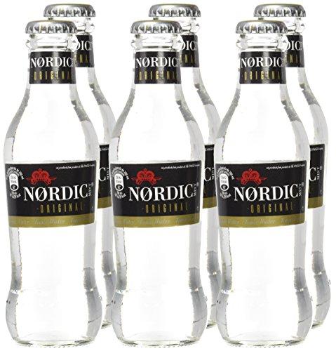 Nordic Mist Original Tónica - 4 Paquetes de 6 x 200 ml - Total: 4.8 L