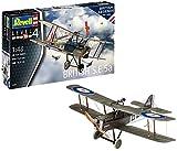 Revell- British S.E. 5a Aeromodello in Kit da Costruire, Multicolore, 03907