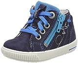 Superfit Baby Jungen Moppy Sneaker, Blau (Ocean Kombi), 19 EU
