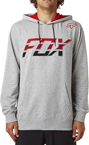Fox Herren Stretcher Seca Pullover Hooded Sweatshirt heather grey