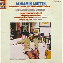 Benjamin Britten: The Complete Music for String Quartet, Volume 1 (UK Import)