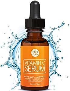 das beste vitamin c serum f r ihr gesicht mit hyalurons ure ferulas ure vitamin e. Black Bedroom Furniture Sets. Home Design Ideas