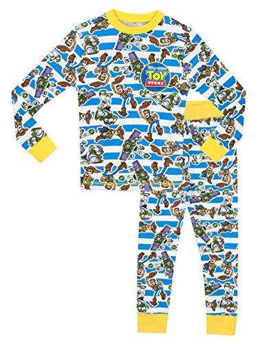 Disney Toy Story Jungen Toy Story Schlafanzug - Slim Fit - 104cm (Toy Story-pyjama Für Jungen)
