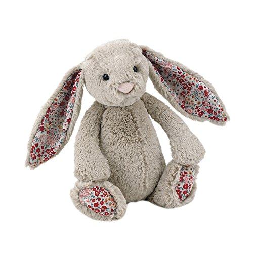 Image of Bashful Blossom beige bunny medium