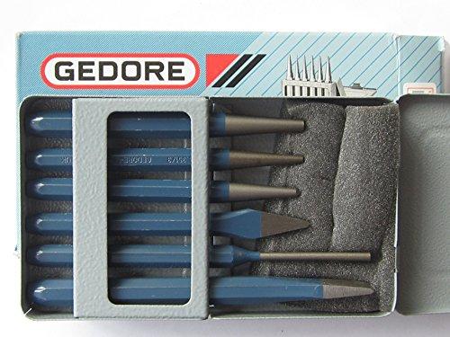 GEDORE Werkzeugsatz 347, 6 teilig, Chrom-Vanadium, Köpfe vergütet