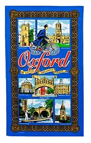 oxford-blue-tea-towel-city-of-dreaming-towers-souvenir-gift-magdelen-bridge-sighs-carfax-christ-chur