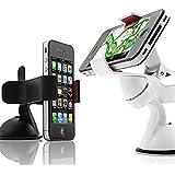 Sostenedor del soporte del teléfono del coche para el iPhone 6 Huawei Xiaomi Samsung J5 A5 S7 Edge S6 redmi Nota 3 6s Pro Plus 5 5S 5C 4S