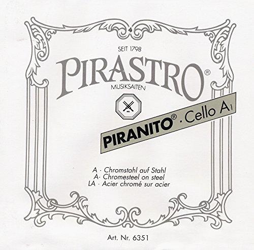 Pirastro 635340 Piranito 3/4+1/2 Cello G-3 (mittel)