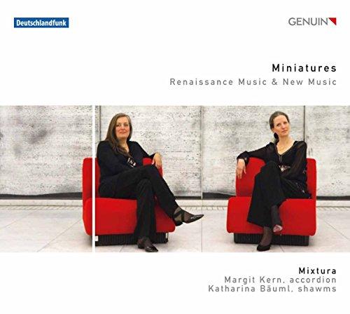 Miniaturen für Akkordeon und Schalmei - Renaissance Musik und Neue Musik