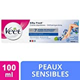 Veet Crème Dépilatoire - Peaux Sensibles - 100 ml - lot de 2