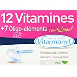 VITARMONYL 12 Vitamines + 7 Oligo Eléments Effervescent 24 Comprimés - Lot de 2