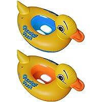 PVC Flotador Anillo de natación del Niños de dibujos animados del Pato ,GZQES,Infant