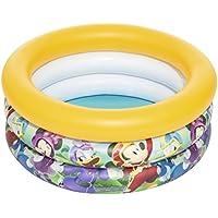 Bestway 91018 - Piscina hinchable para niños Disney Mickey and the Roadsters, 70 x 30 cm, 38 litros