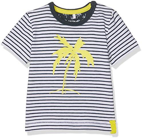 NAME IT Baby-Jungen T-Shirt Nitderry SS Top Mznb, Mehrfarbig (Dress Blues), Gr. 68