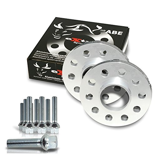 NJT eXtrem 790034 Kit d'élargisseurs 40mm avec vis de Roue pour Audi A3 / A3 Quattro / A3 Cabrio / 8P