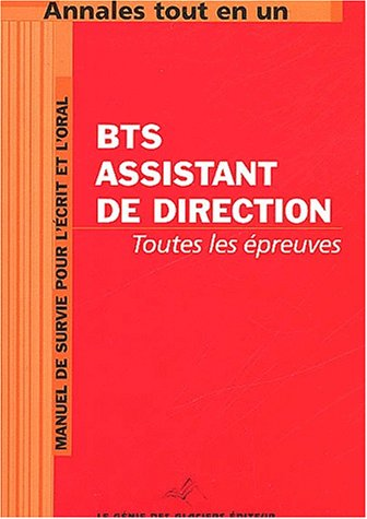 BTS Assistant de Direction par  Collectif