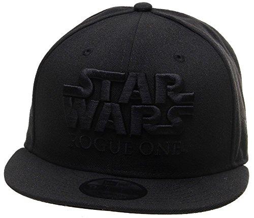 Neue Ära 9FIFTY Star Wars Schurken One Snapback Cap - Schwarz - O/S