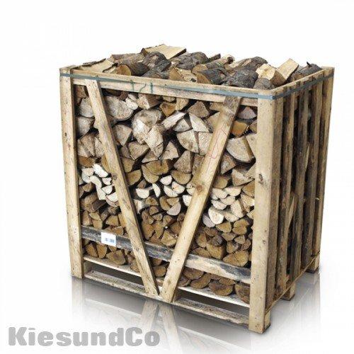 *Kaminholz 1 Raummeter trocken | Buche | Brennholz | Feuerholz – schönes Flammenbild & hoher Heizwert*