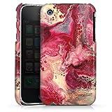 DeinDesign Coque Compatible avec Apple iPhone 3Gs Étui Housse marbre Marble Structure