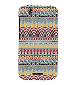 Arrow Pattern Design 3D Hard Polycarbonate Designer Back Case Cover for Acer Liquid Zade Z630 : Acer Liquid Zade Z630S