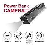 Neue Bewegliche Externer Akku Power Bank Versteckte Kamera, Versteckte Spion Leichtgewicht Kamera, Überwachungkamera, Bewegliche Energie-Bank mit Batterie 3300mAh