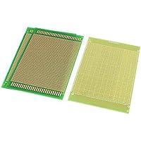 3pcs la tarjeta de circuitos DealMux 12cmx18cm con revestimiento de cobre cubierta de un lado PCB Impreso