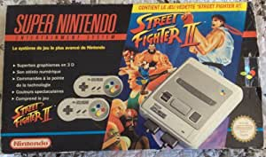 Console Super Nintendo Pack Street Fighter 2 Complet [Ba]
