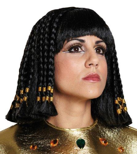 Karneval Perücke Cleopatra Zubehör zum Damen Kostüm an Fasching