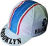 Cappellino da ciclismo Brooklyn bianco