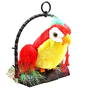 JUMBO Talk Talking Back Parrot Bird Kids Toy - 81