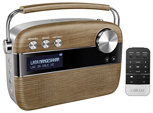 Saregama Carvaan R20005 Portable Digital Music Player (Brown)