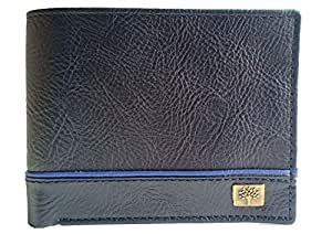Woodland-o-Wallet Men's Leather Wallet Casual Regular Purse (Brown)