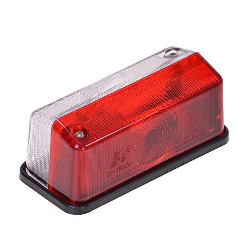 Filmer 36515 Umrissleuchte, Lichtscheibe, 12 V, rot / weiß